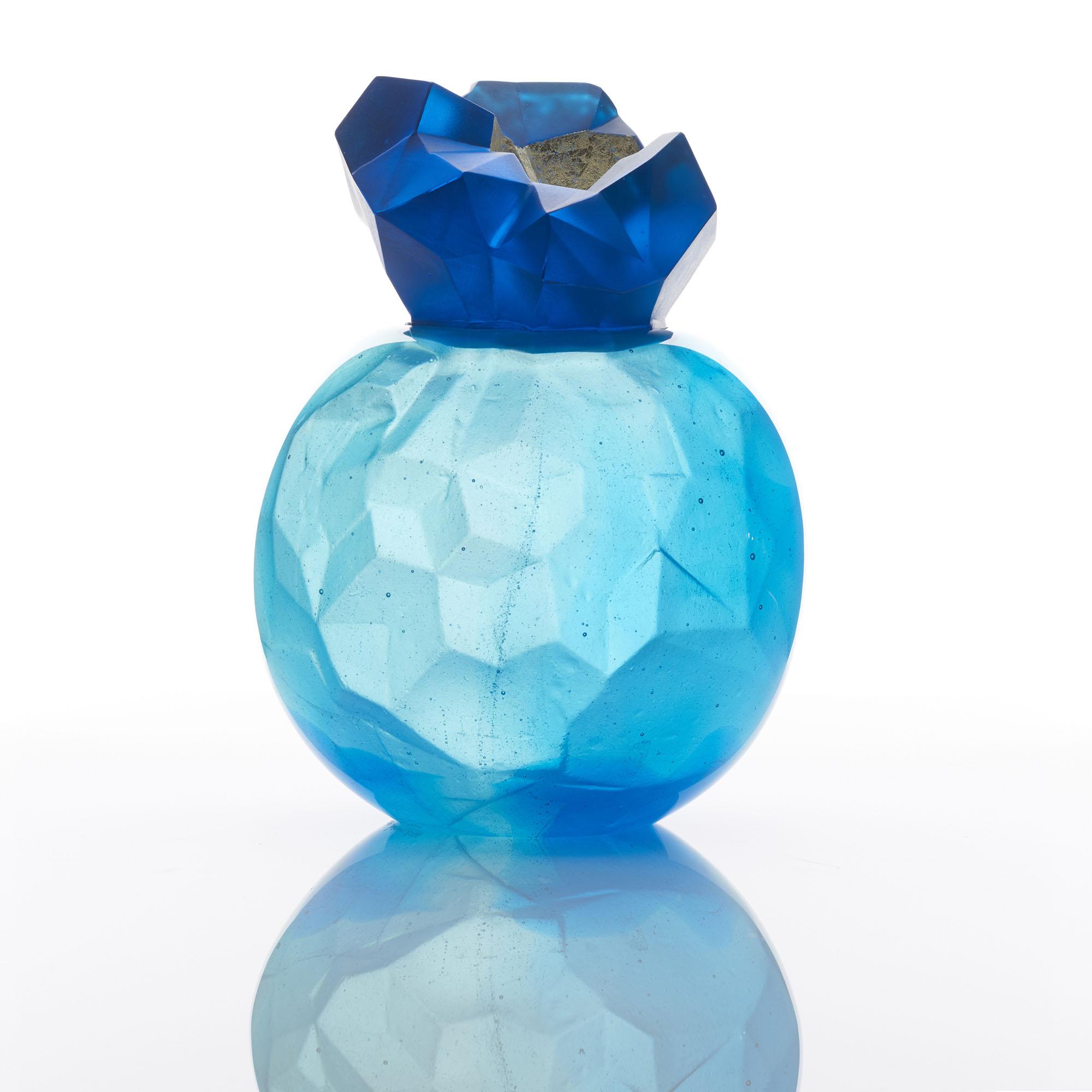 Blue Topaz Geode   2016   Angela Jarman