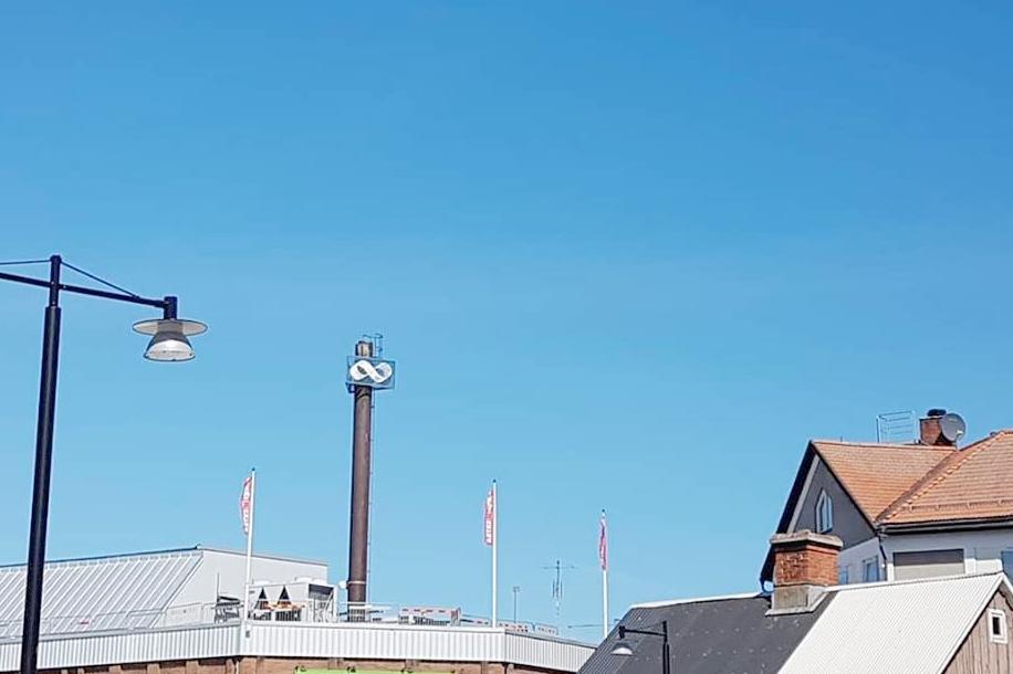 I Oskarshamn hittade jag den här fina gamla konsumskylten, högt upp i det blå. En evighetssymbol passar kanske riktigt bra för att illustrera planeringscykeln i en styrelse?