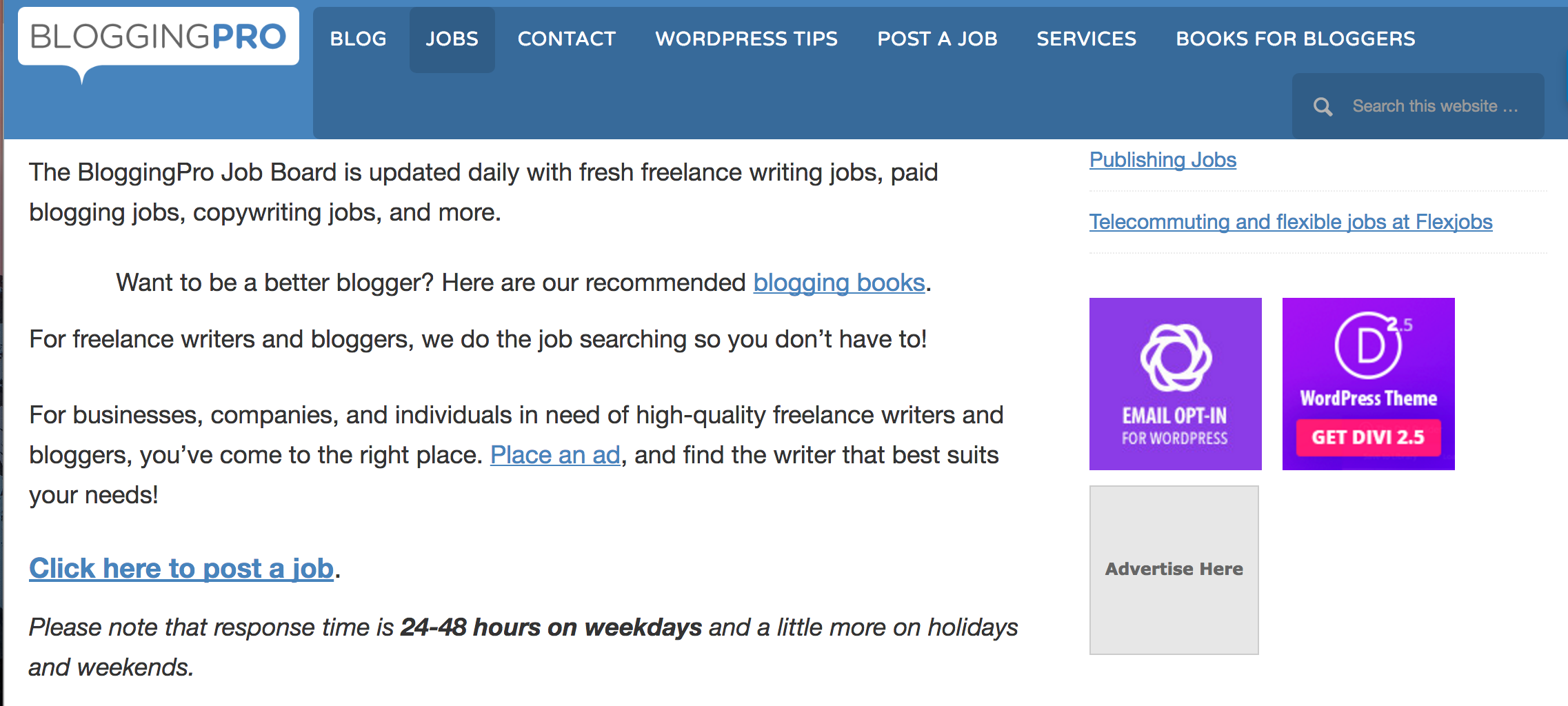 BloggingPro_Jobboard