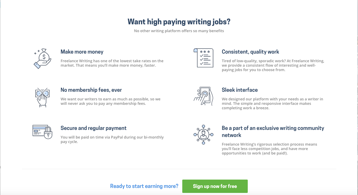 Services at Freelancewriting.com