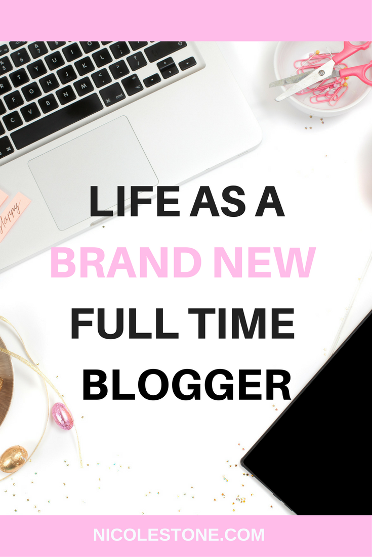 Life as a full-time blogger
