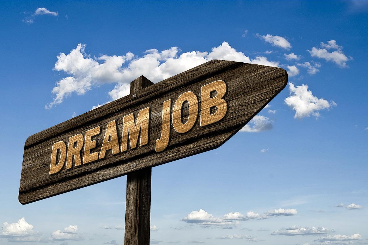 Career Changes Dream Job Sign.jpg