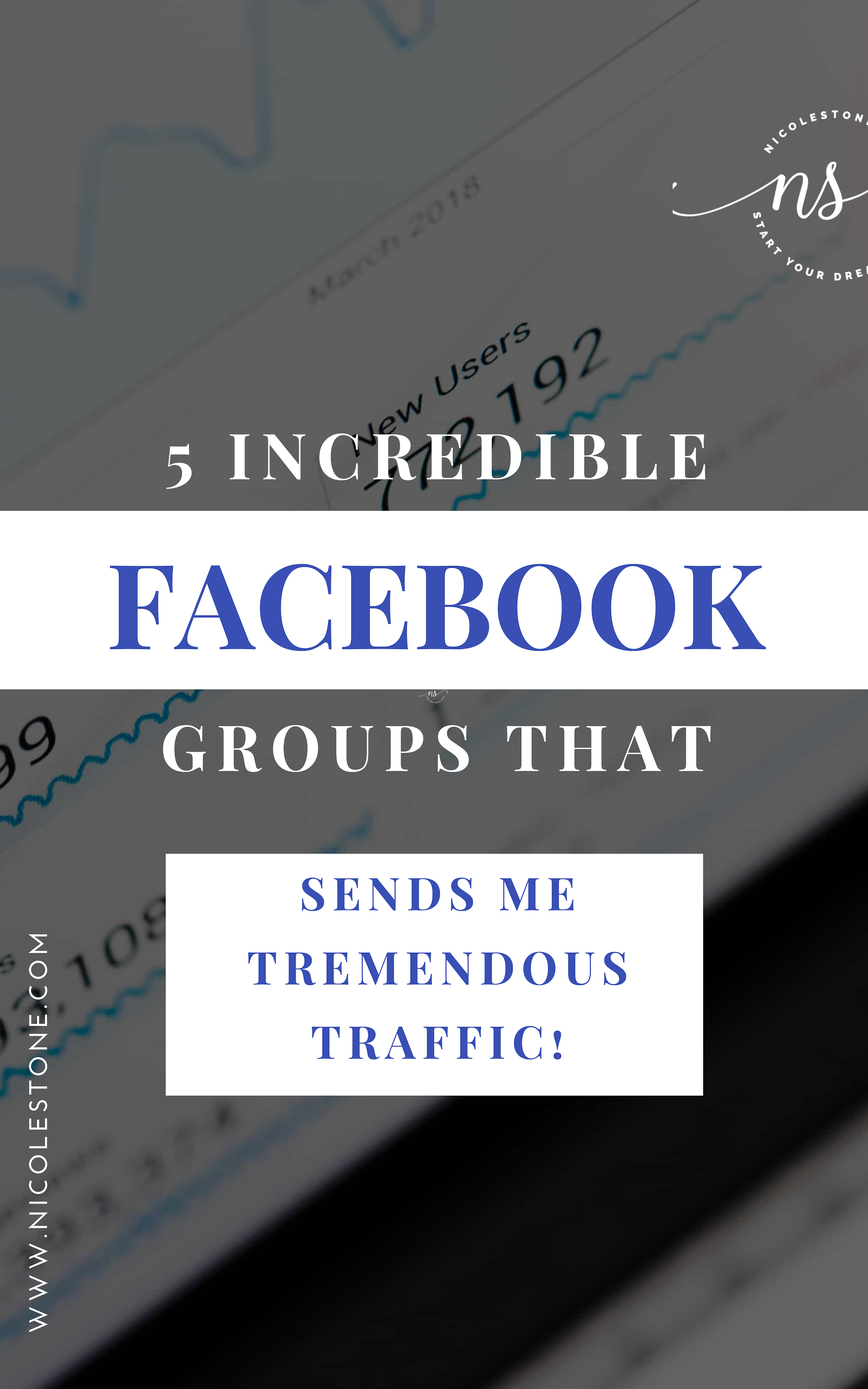 Grab these 5 Facebook groups that entrepreneur needs! Gain major traffic and boost your marketing with my favorite groups! #marketing #Blogging #blog #socialmedia
