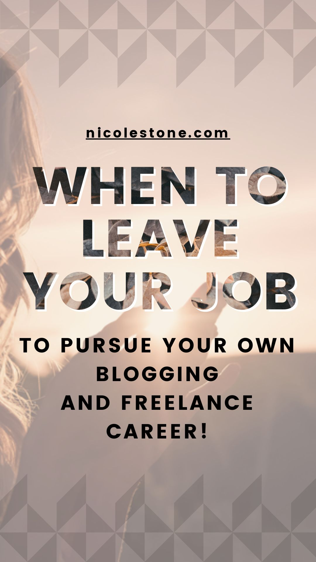 Looking to work for yourself? Learn when it's right to leave your job and work from home with this freelance guide.  #workfromhome #workathom #freelance #career #personaldevelopment