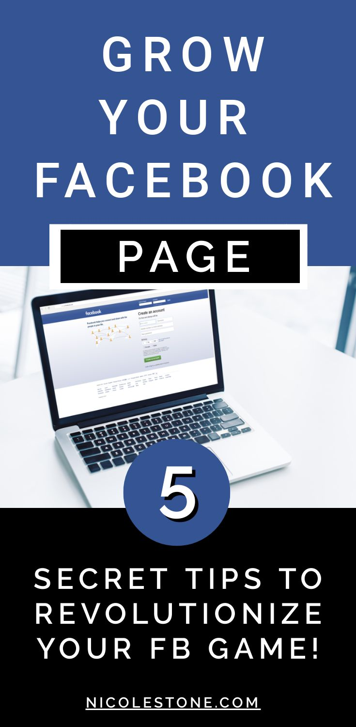5 CRAZY tricks that will boost your Facebook page. Learn how to grow your likes, follows, and engagement - exactly how I gained 5,000 followers and reach 10,000 people a post! #marketing #socialmedia #blog #blogging #facebook #facebooktips #digitalmarketing