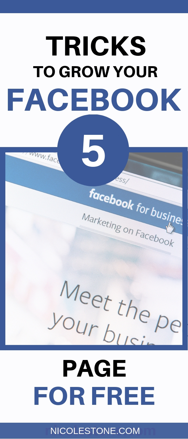 5 easy to learn tricks to grow your Facebook page!! #blog #blogging #marketing #traffic #socialmedia #facebooktips