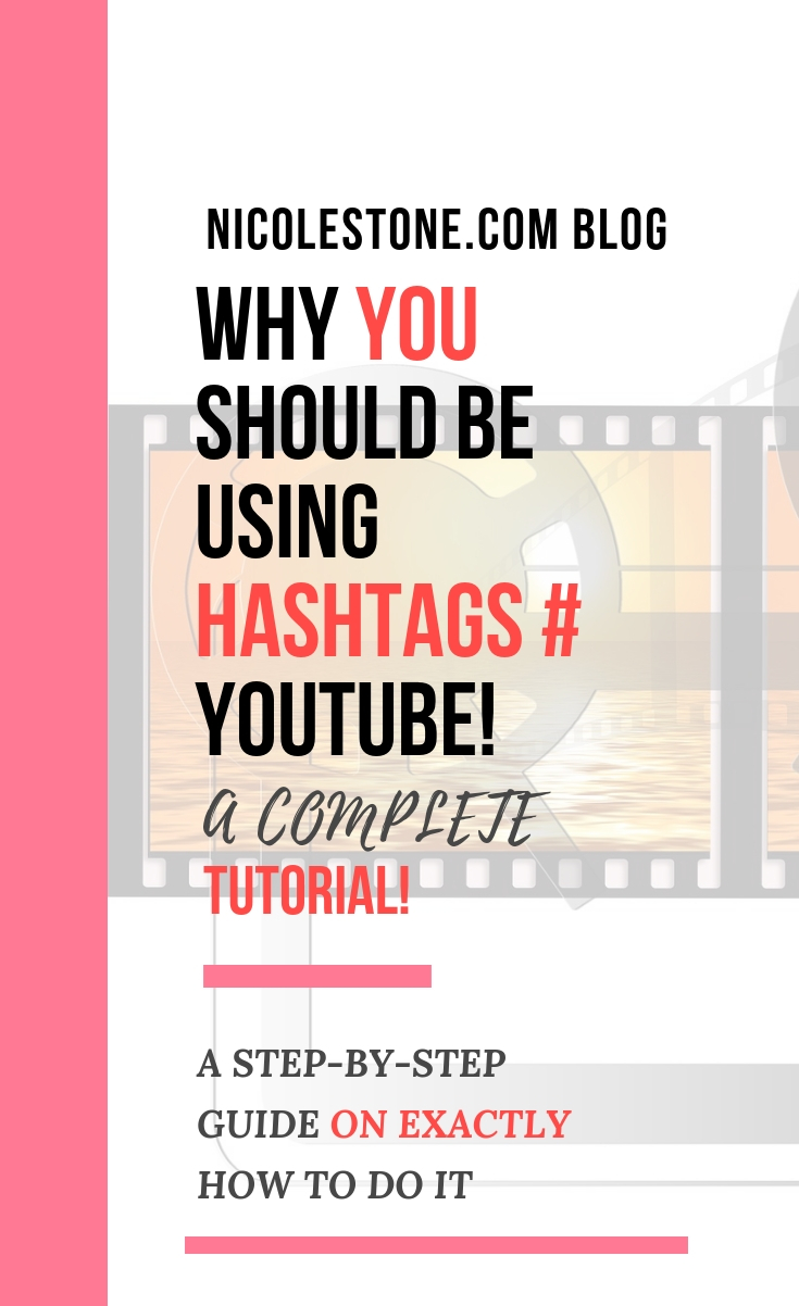 Learn how to use hashtags on YouTube! Boost your YouTube strategy with this simple trick - complete guide. #youtube #socialmedia #marketing