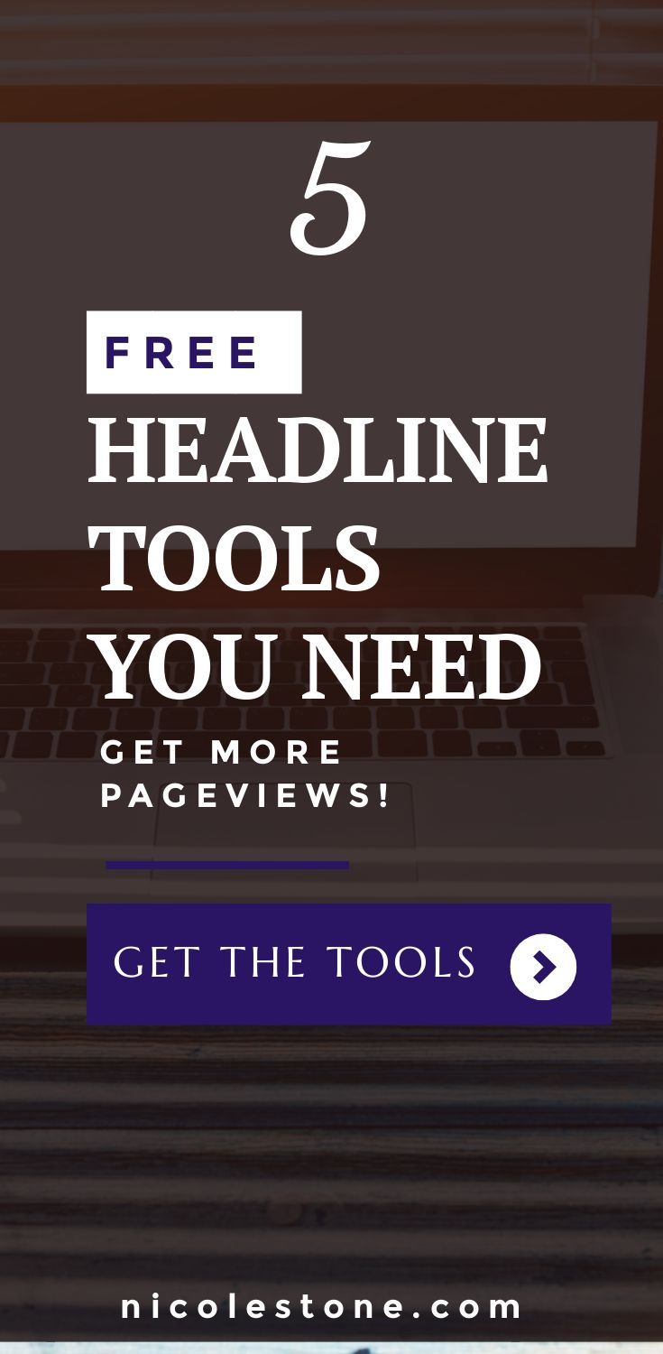 How to DRASTICALLY increase your website TRAFFIC by utilizing these incredible headline tools! These are blogging tools you NEED! #blogging #headline #blogtips #marketing #blogtraffic
