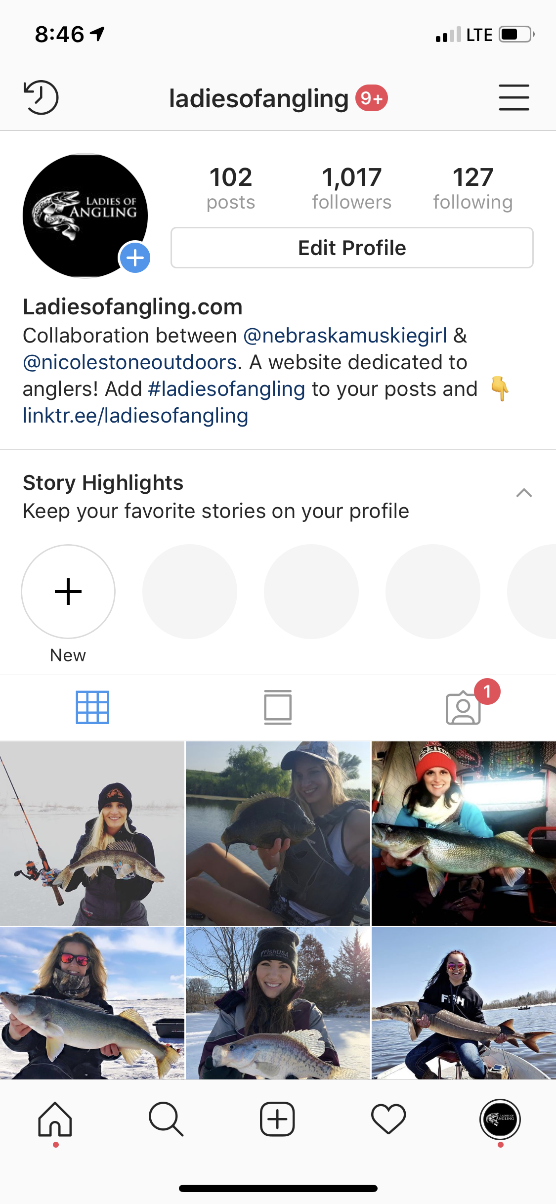 How to add links to Instagram bio