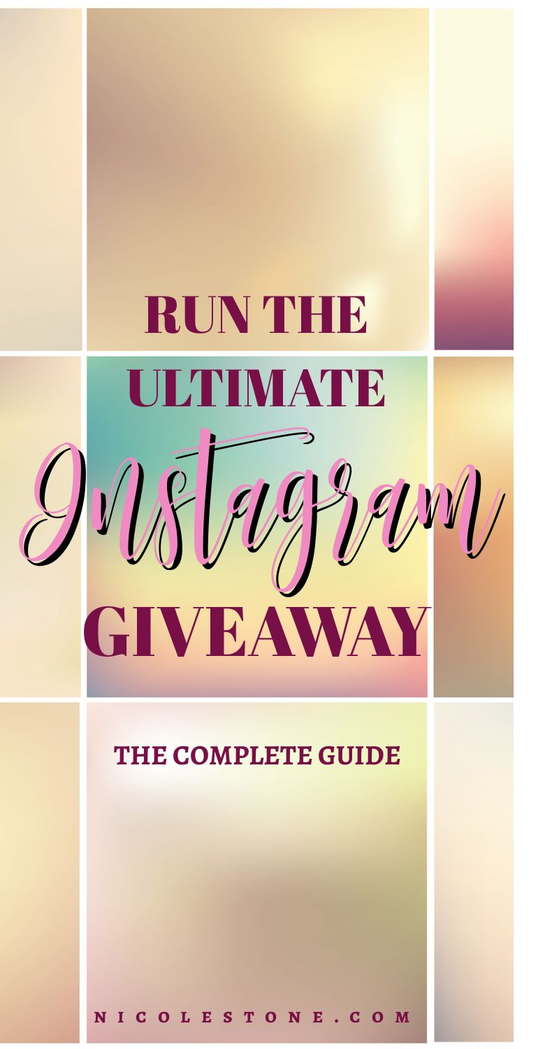 Run Instagram giveaways the RIGHT way to gain followers and engagement. #socialmedia #marketing #instagram #instagramtips #instagrammarketing #blogging #influencer