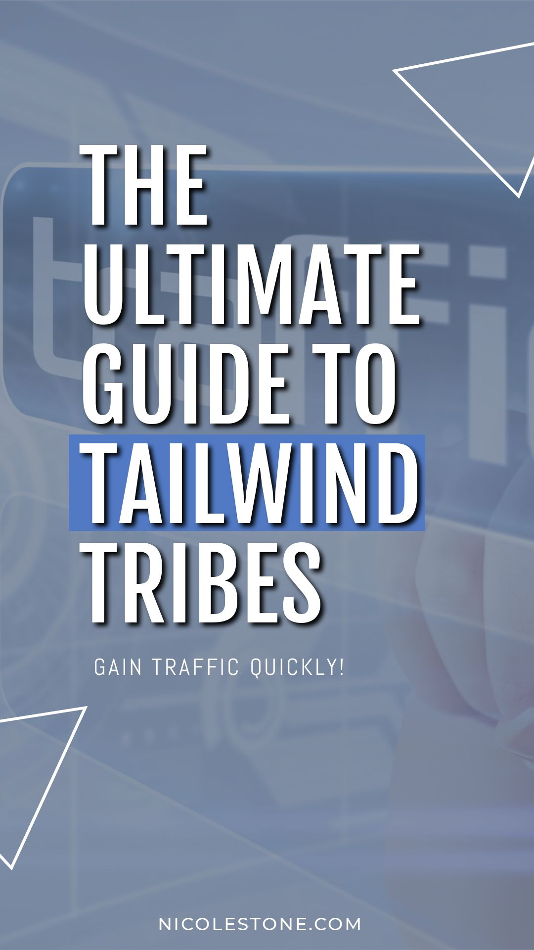 Learn how to use Tailwind Tribes to boost your traffic! Everything you need to know about Tailwind Tribes is in this guide - boost your Pinterest traffic! #pinterest #pinteresttraffic #tailwindtribes #marketing #socialmedia #blogging #blogtips