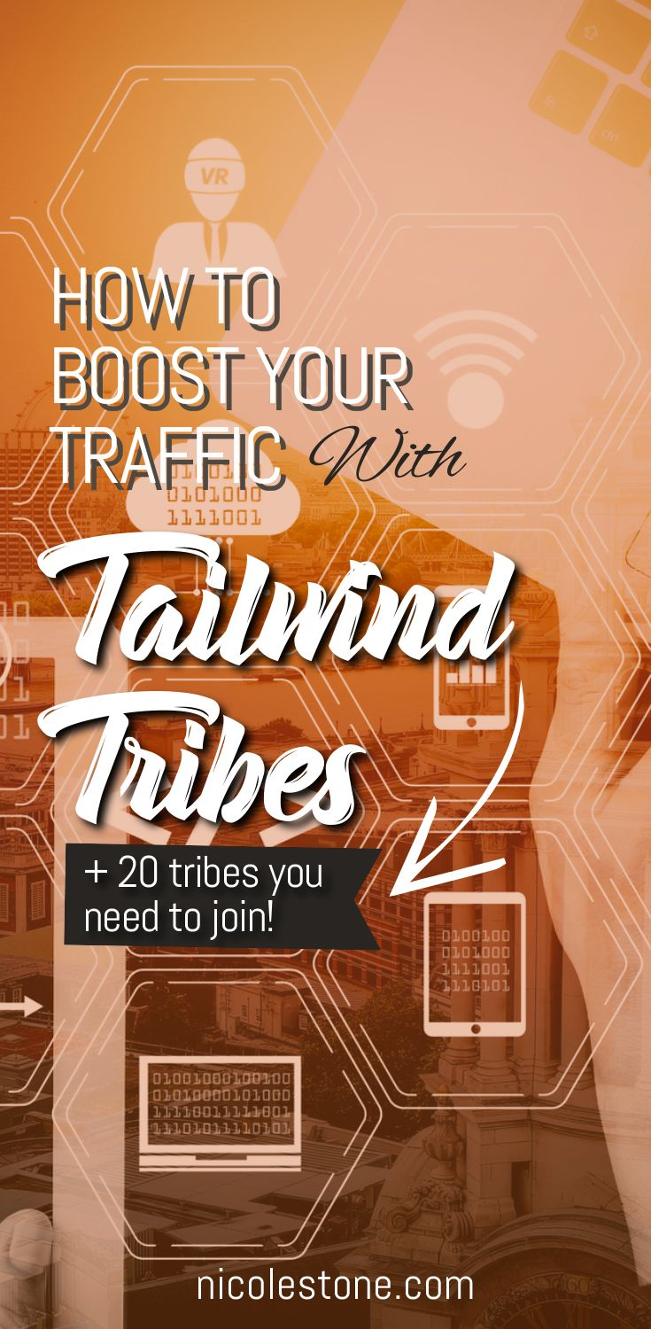 How to use Tailwind Tribes to boost your blog traffic quickly! EVERYTHING you need to know! #marketing #pinteresttips #socialmedia #blogtraffic #bloggingtips