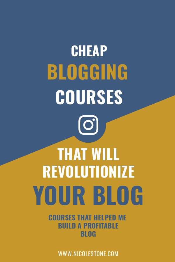 Boost your blog traffic and blogging income with these 5 cheap courses (they helped turn my blog into a full-time gig!).