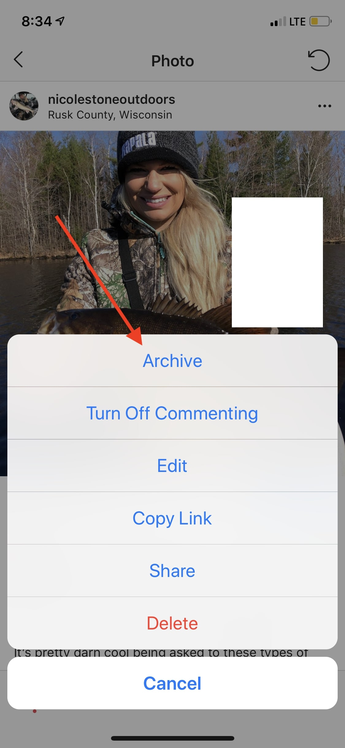 Archive old Instagram posts to keep them without having them on your Instagram feed.