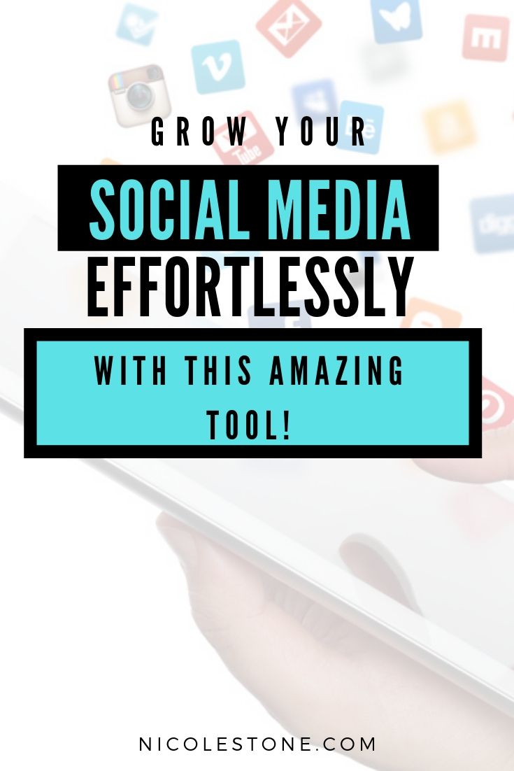 Gain social media platforms EASILY with this single tool! Build your Pinterest, Instagram, Facebook, YouTube, Email List and more with one single tool! Marketing made easy. #marketing #socialmedia #blogging #blogtips #marketingtips #instagramtips #pinteresttips #facebooktips