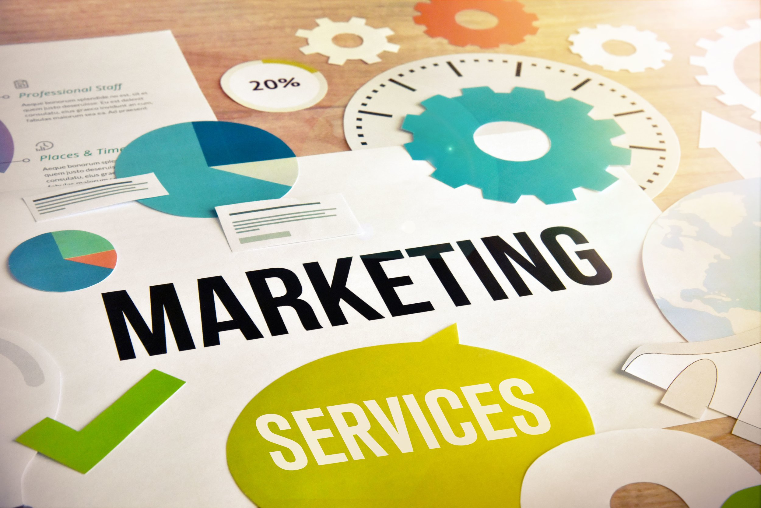 Marketing services is a great way to make money as a freelancer.
