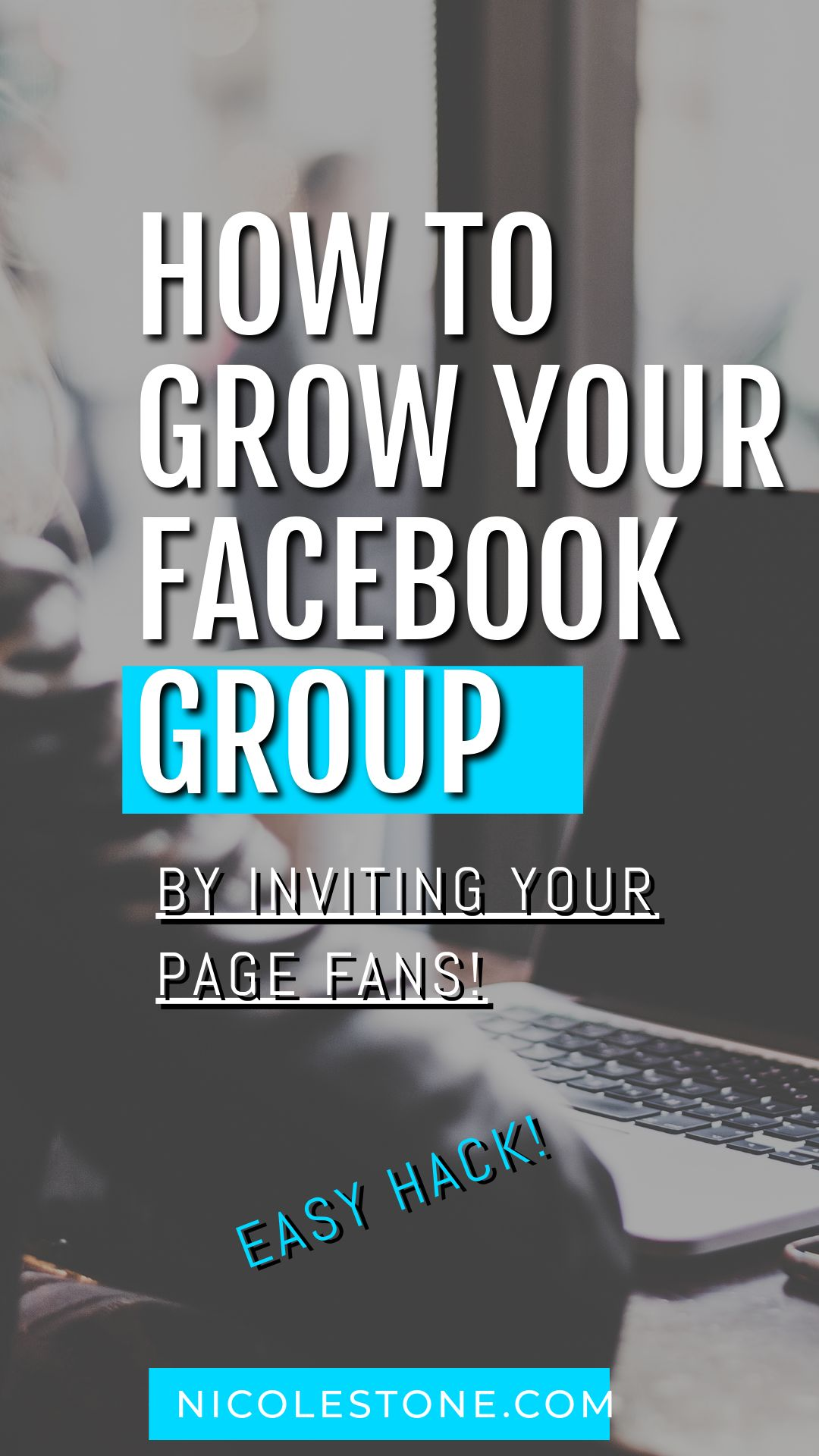 Grow your Facebook group easily with this quick tip! This is the best way to get your group growing!
