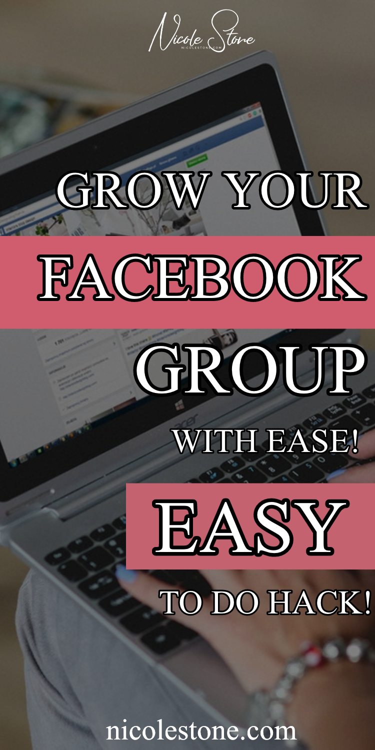 The perfect marketing tip to grow your Facebook group quickly! Learn how to boost your facebook! #marketing #socialmedia #blogging #market