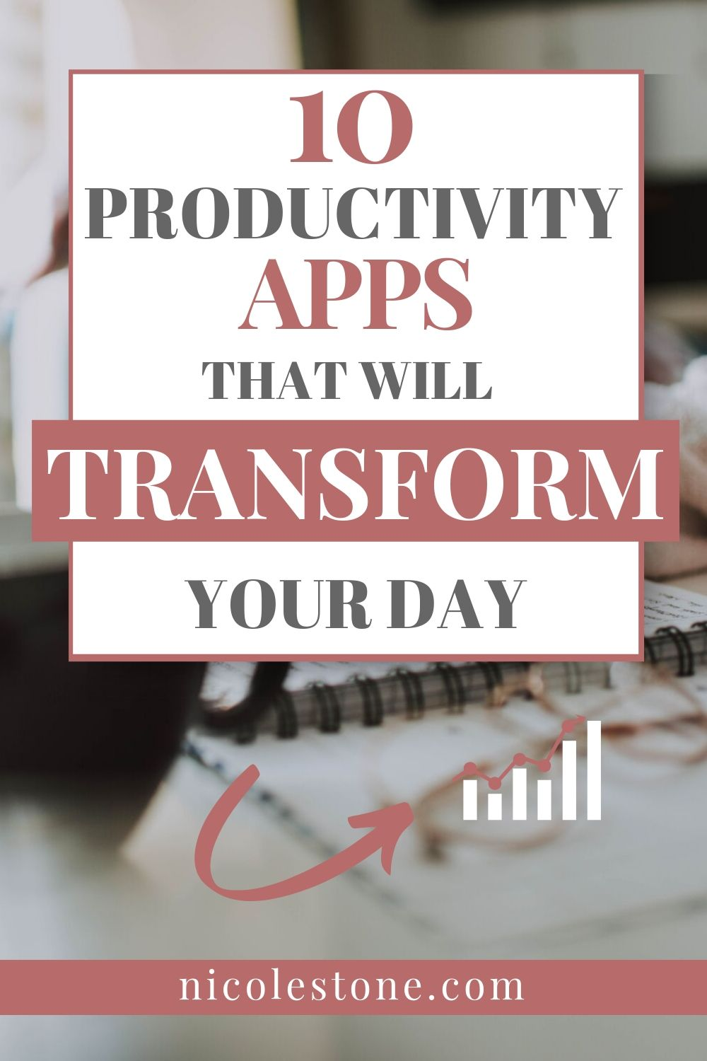 10 Productivity Apps That Will Transform Your Day! The complete list of apps that will improve your daily productivity. #productivity #timemanagement #personaldevelopment #productive