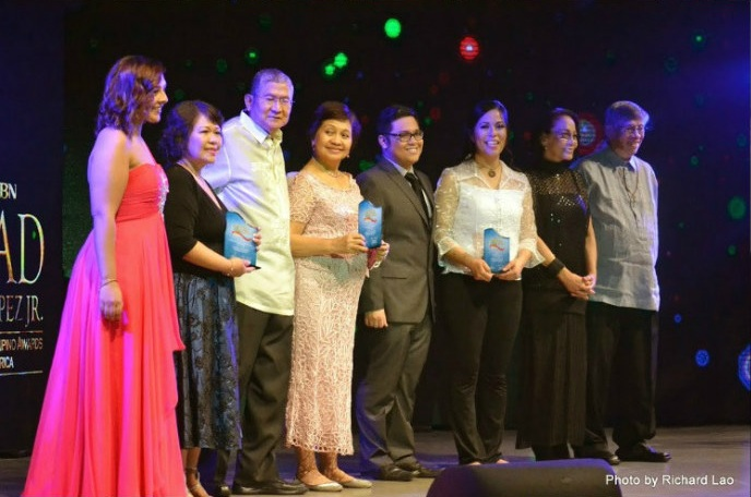 The winners were recognized during the June 10, 2014 Bayanihan Pilipino Award ceremony in Manila, Philippines.