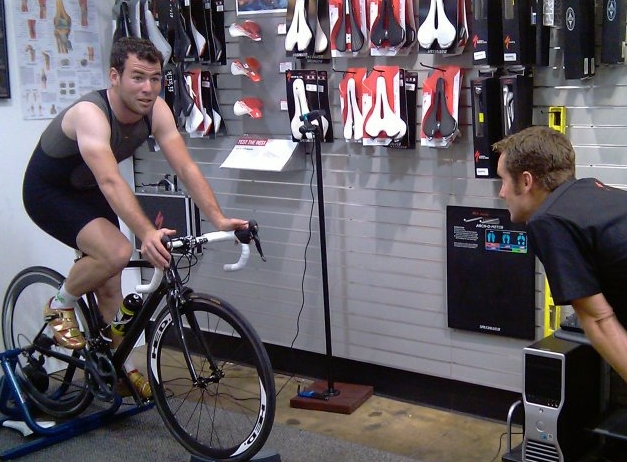 Ron fitting the winner of 34 tour de france stages, Mark Cavendish