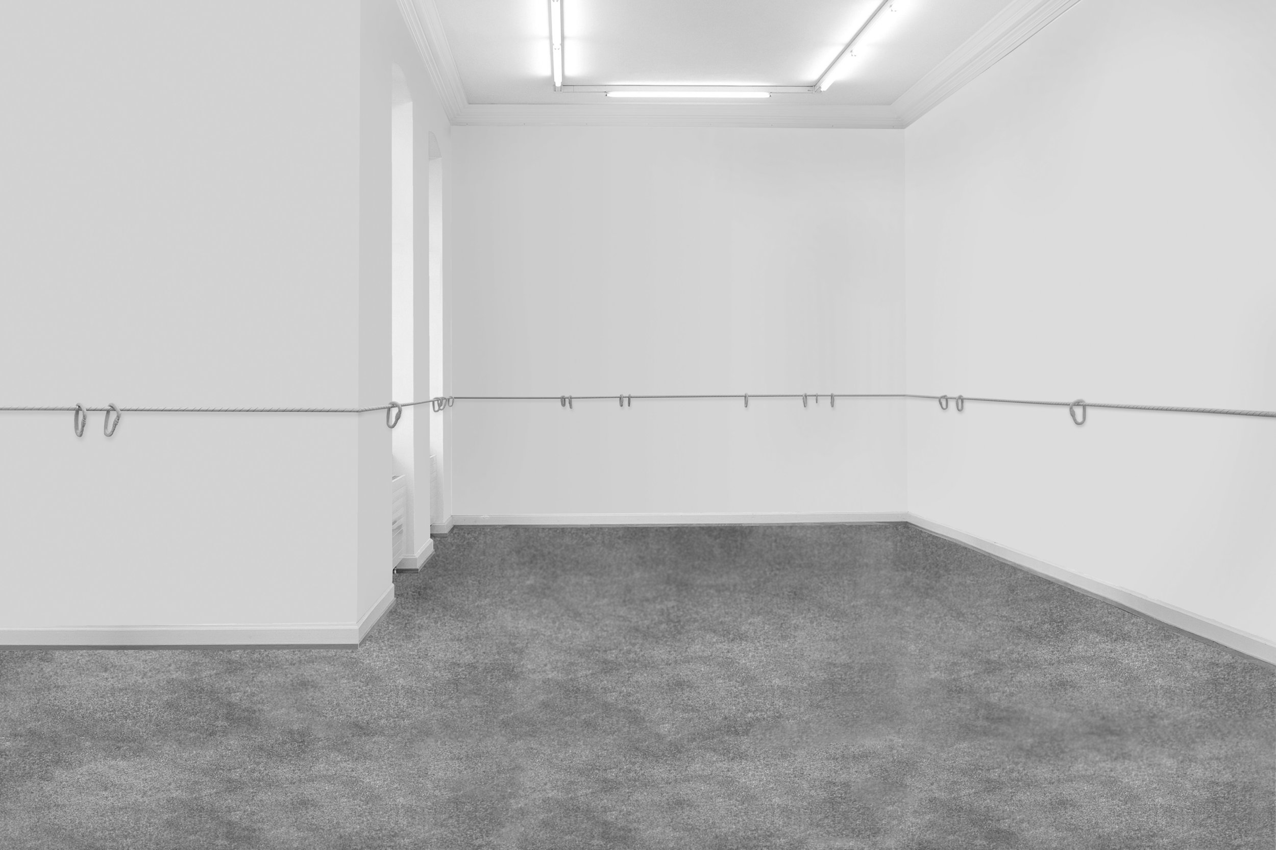 KARABINER, Installationview Künstlerhaus Bregenz, 2017
