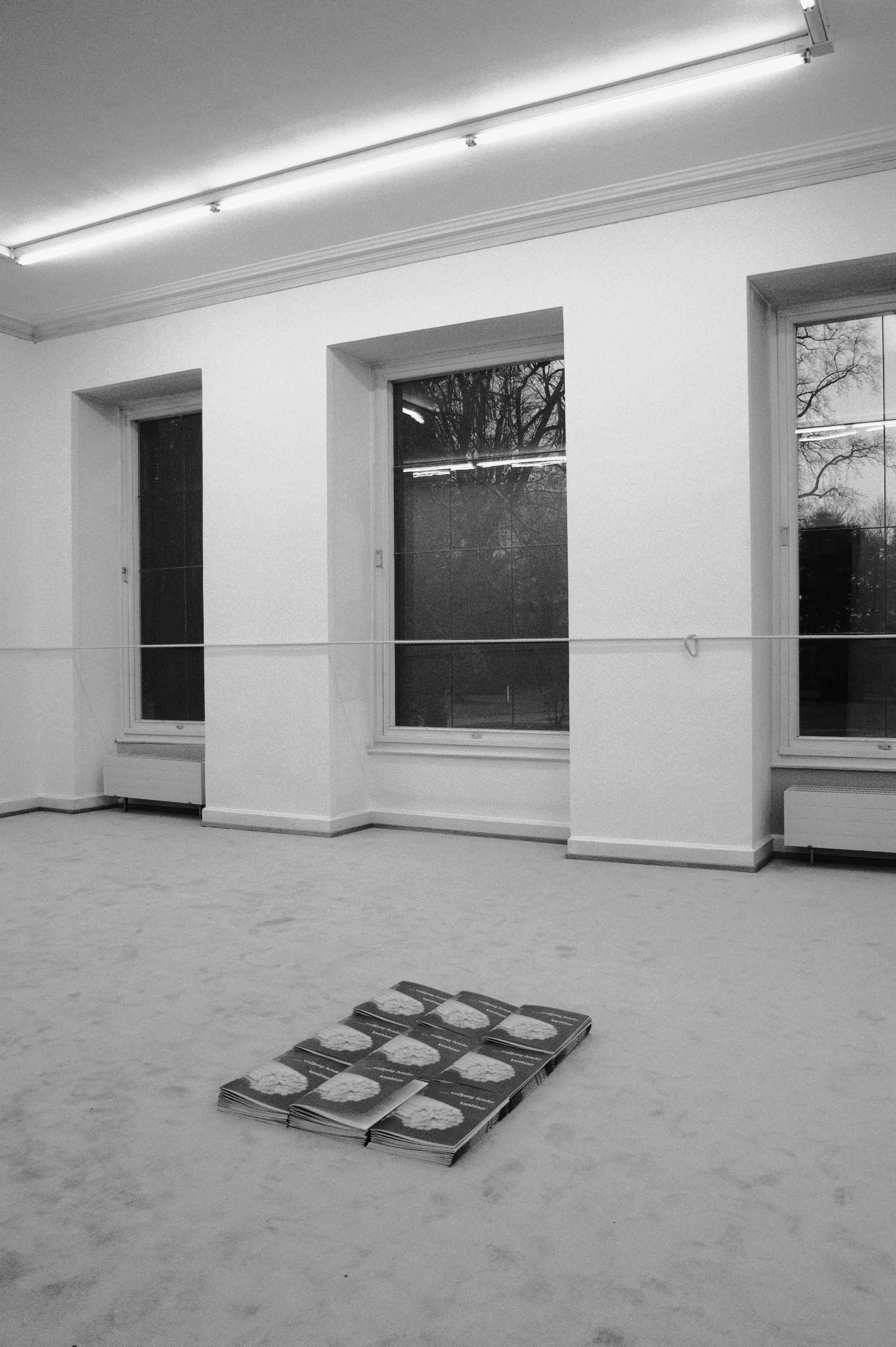 KARABINER, installation view