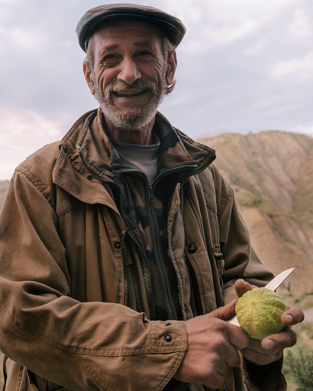 Special Thanks to our favourite Bergamot Farmer.