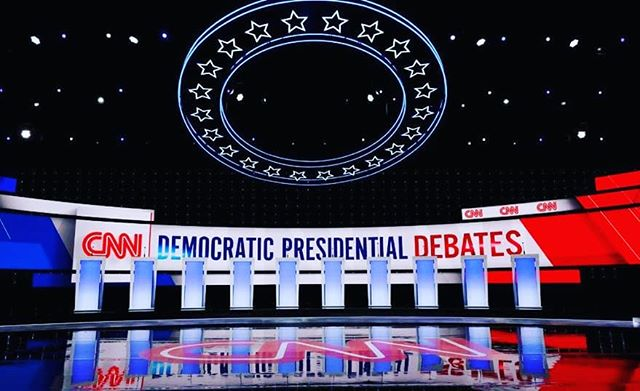 Join us tomorrow for the Debates! Show this post and in return get yourself a $7 cocktail, $5 wine or $3 beer.  #detroit #cocktailsanddebates #detroitclub #cnn