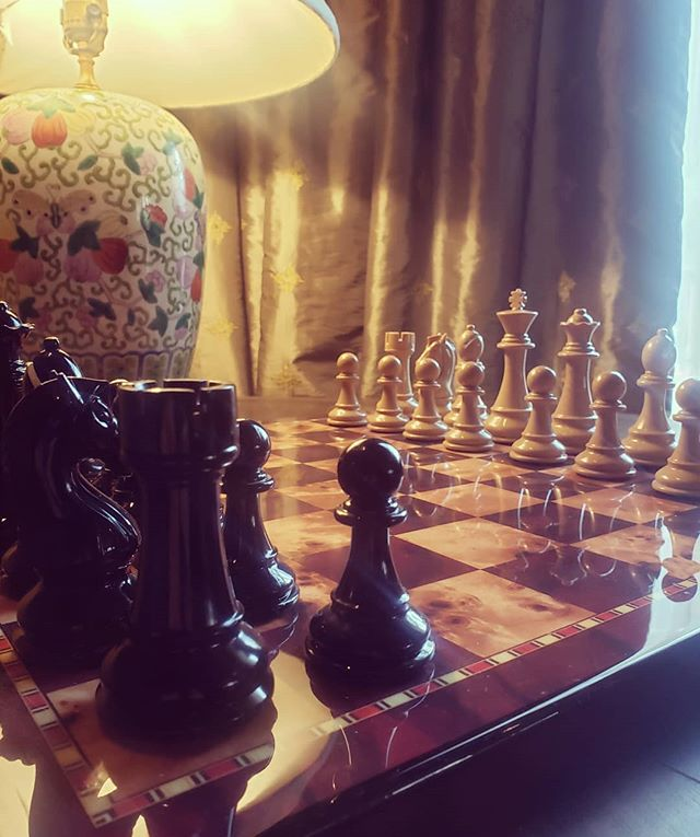 Life is a game of chess… And chess is best with cocktails  #detroitclub #cocktailsandgames #craftcocktails #librarylove