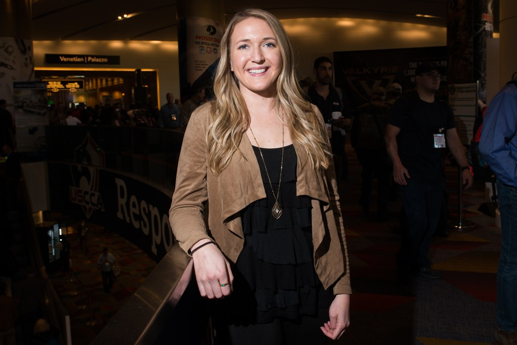 Ali was one of 12 women interviewed by Glamour at SHOT Show 2018.