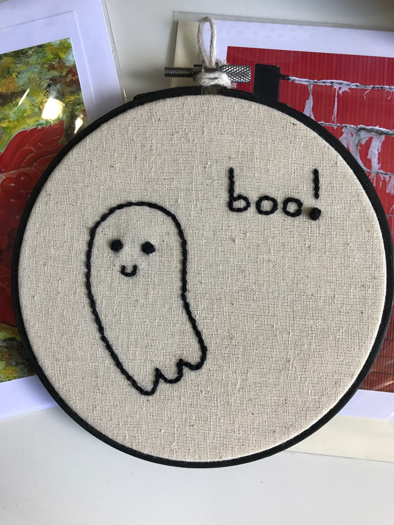 Meliferra's Ghost Embroidery