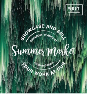 Saturday 30th June is the closing date for stallholder applications for our Summer Market.