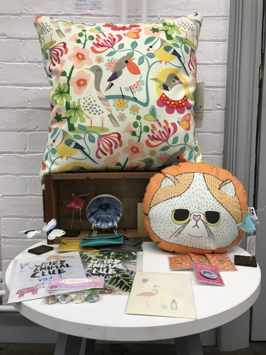 June 2018 edit - A selection of our summer themed items from the shop.