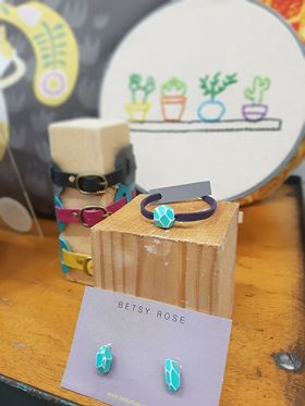 A small selection of the Betsy Rose jewellery in our Gallery Shop.