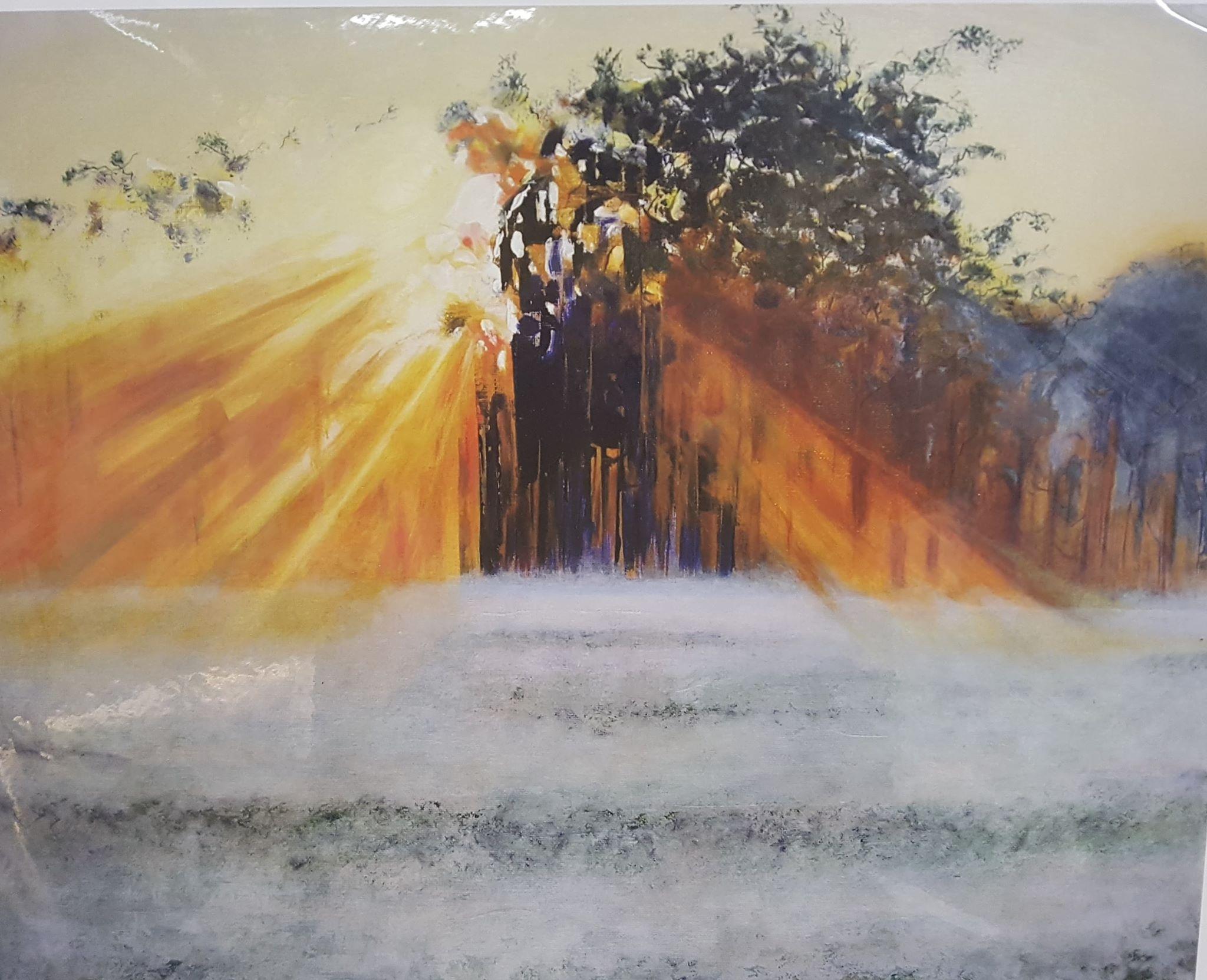 Treescape Print by Martin Davis £50