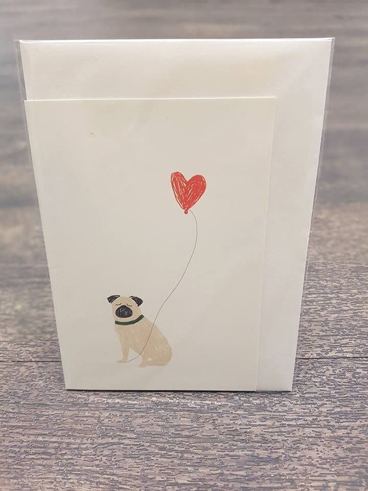The Illustrated Wisp Pug Balloon Card.jpg