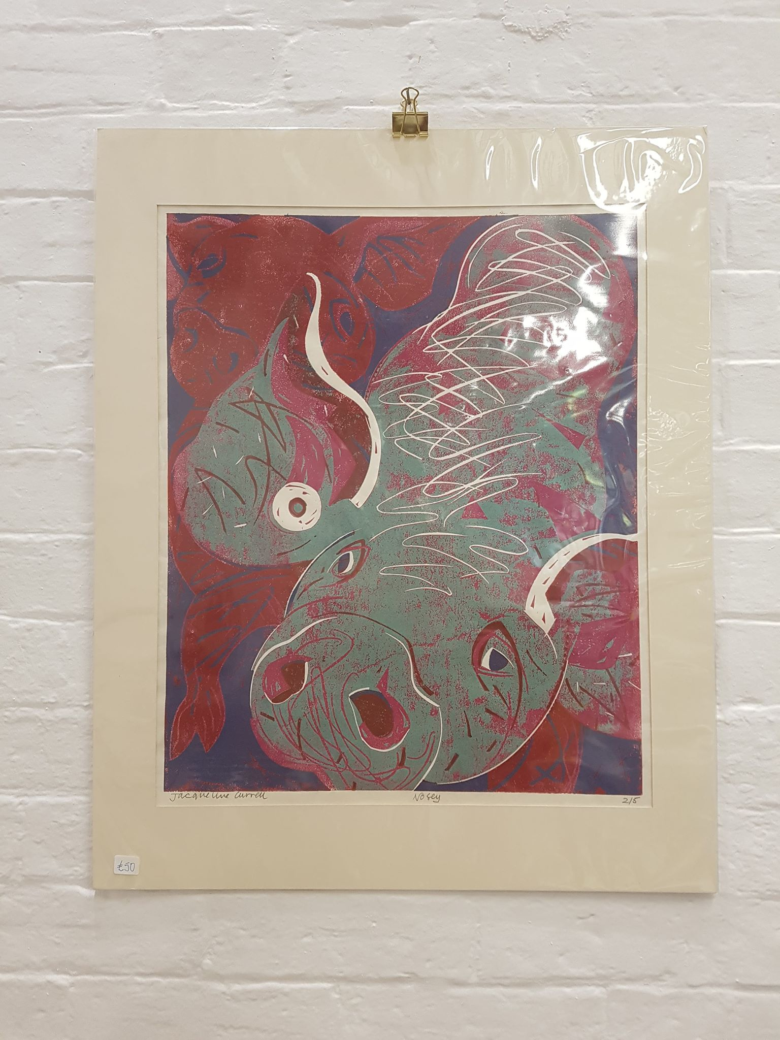 'Nosey' Print 2/5' by Jacqueline Currell £50