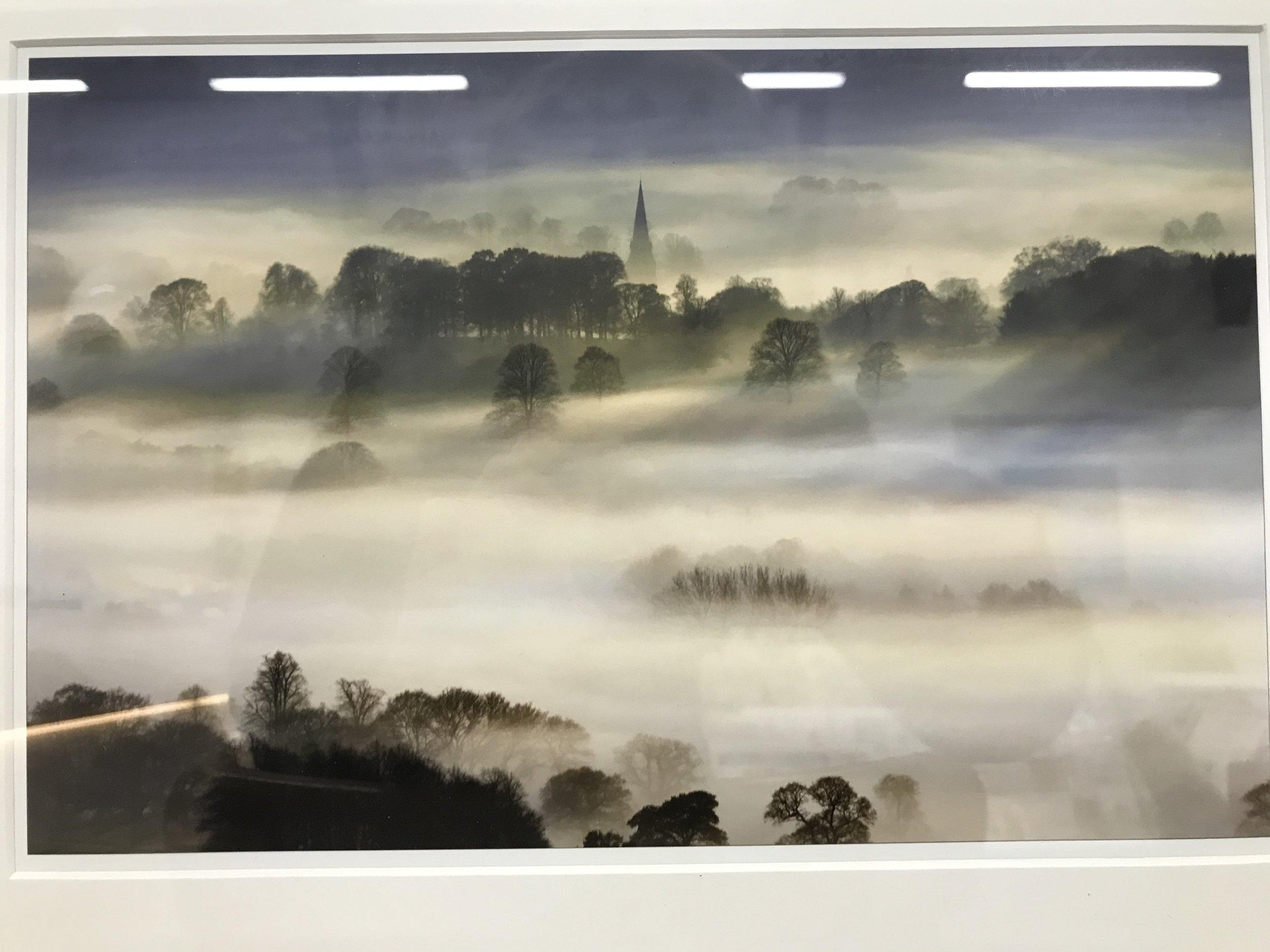 Jerry Daniels- Foggy Church Photograph- £30