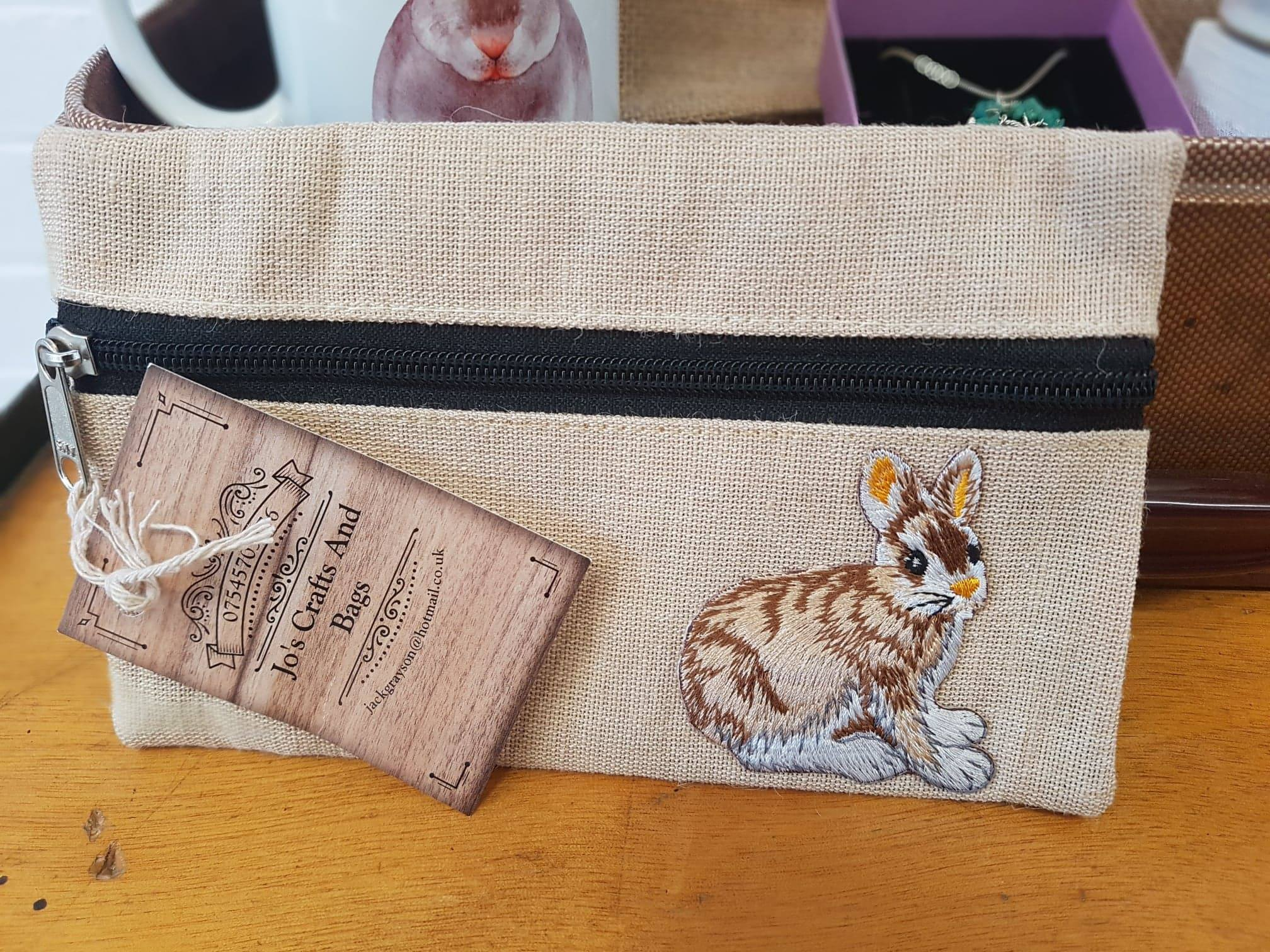 Bunny Pencil Case, Jo's Crafts and Bags, £5
