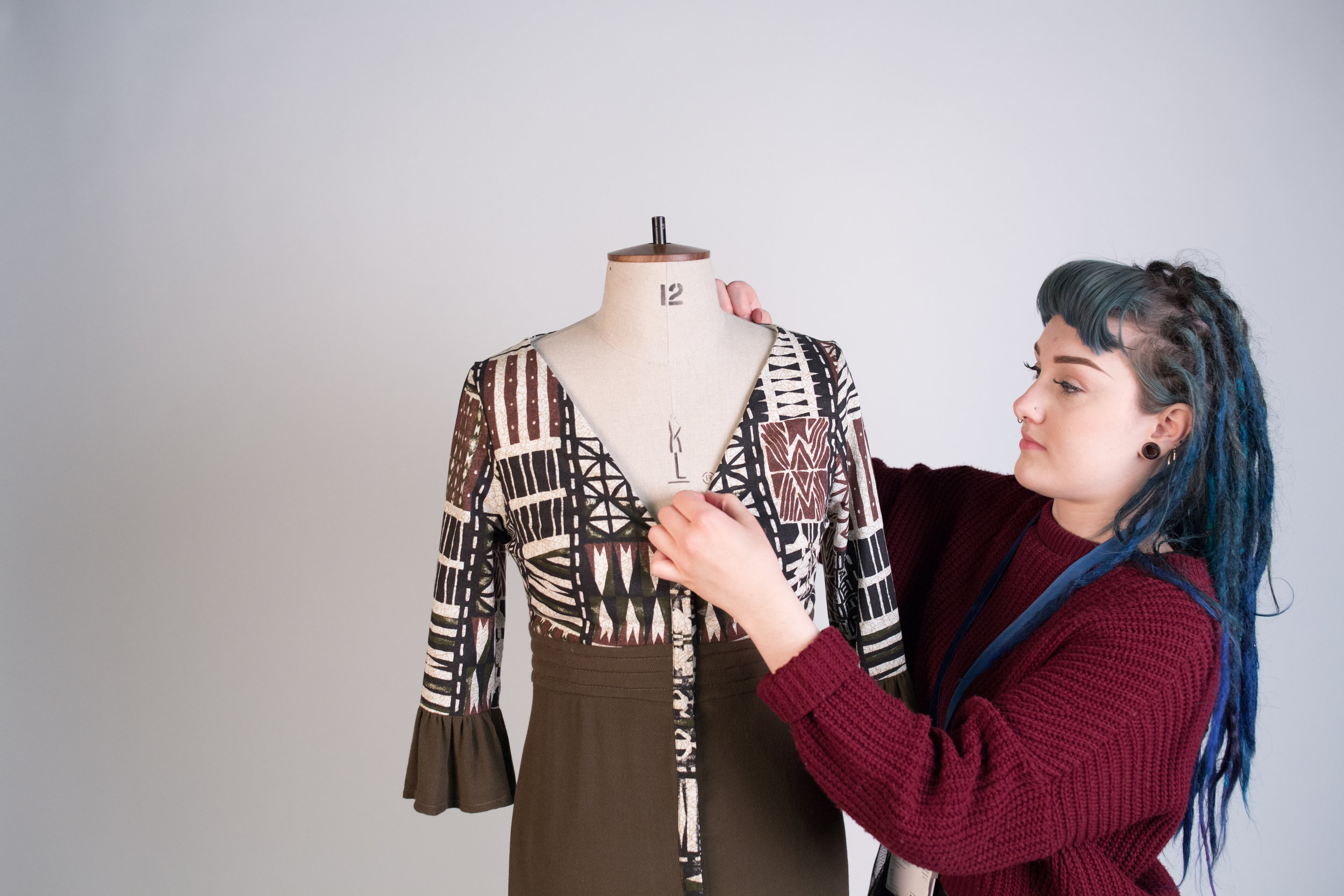 April Spence - SHOWCASE OF NEWLY LAUNCHED SUSTAINABLE WOMENSWEAR LABEL, BLUE OXENFUTURE PLANS: SECURED A STUDIO TENANCY AT WEST STUDIOS. NOW WORKING ON S/S18 COLLECTION