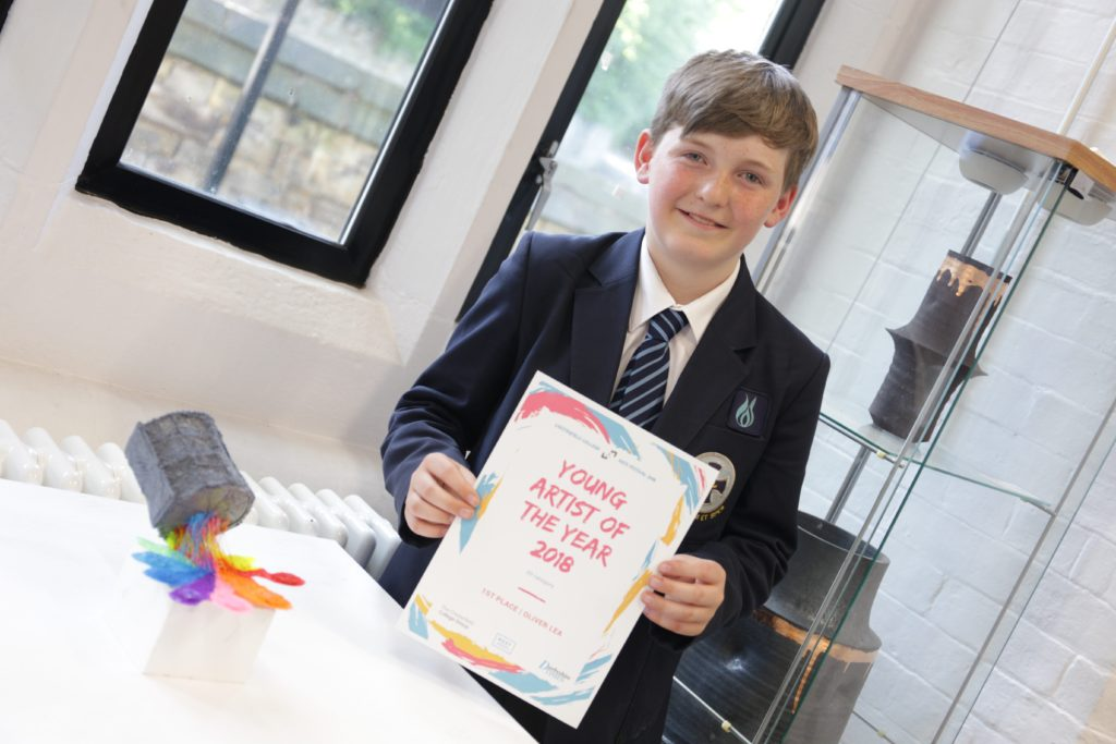 Oliver Lea – Winner of the 3D category of the Young Artist of the Year competition 2018