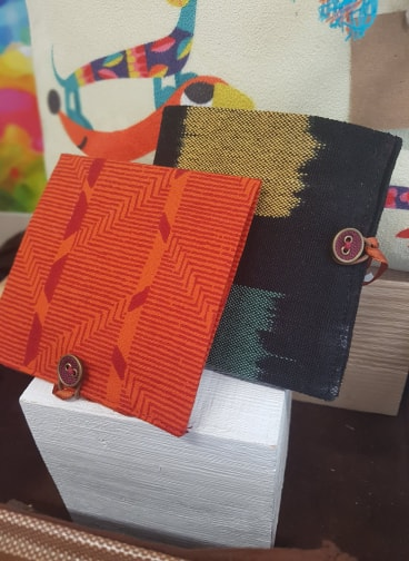Fabric Wallets by Blue Oxen, £5
