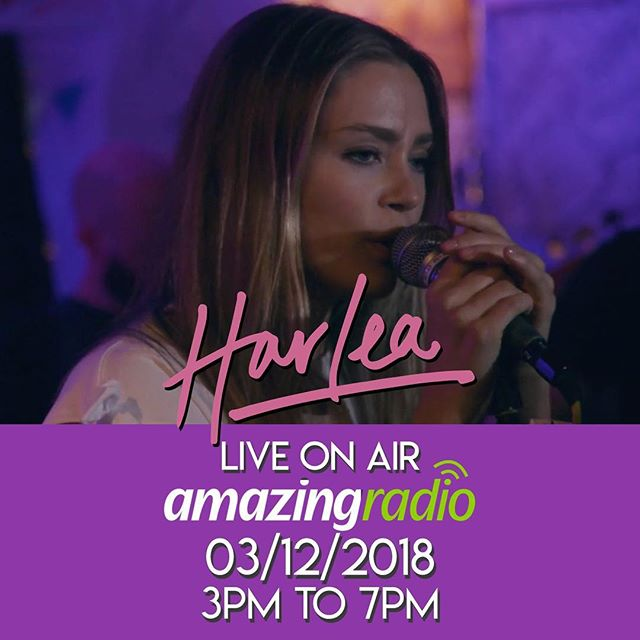 Tomorrow (Dec 3rd) I will be live on air on @amazingradio from 3pm with host Frankie Francis chatting and playing some tunes on air! Make sure to tune in through their website. 📻🎉 Harlea. x #BeautifullMess