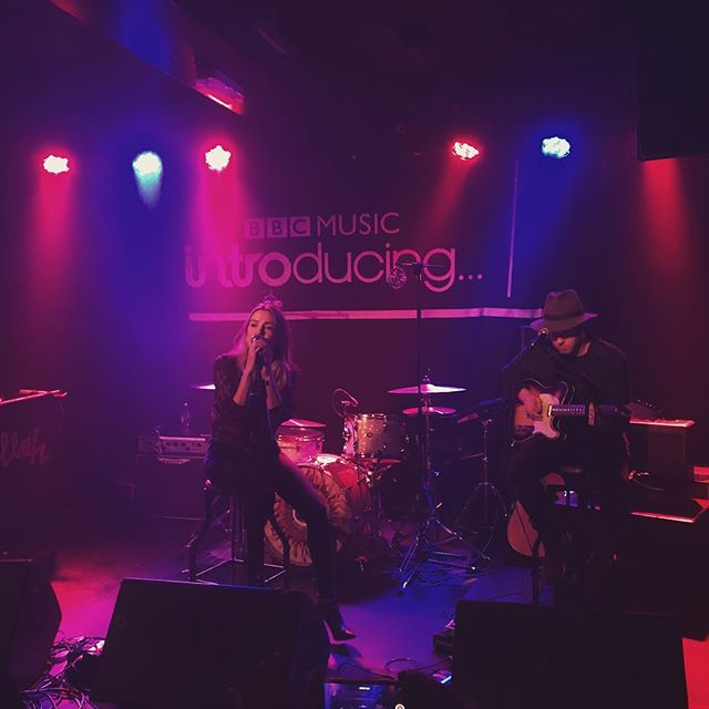 Harlea gets us going at @thelexingtonlondon for @bbcintroducing 🔥🎶 Harlea. x #BeautifulMess