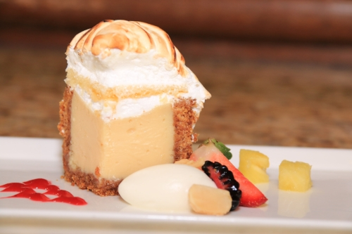 A delicious dessert in The Carolina Dining Room provided a great finish to the day.