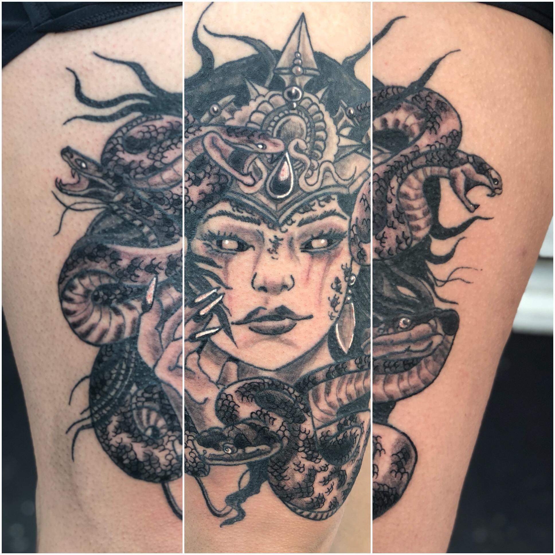 Stylized Medusa