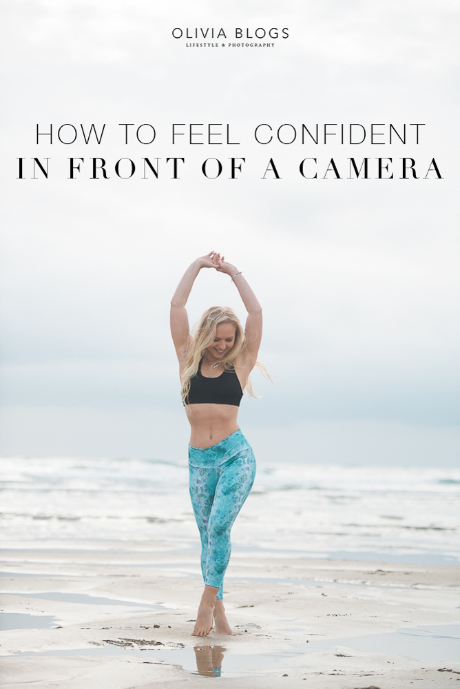 How To Feel Confident In Front of a Camera - Olivia Blogs