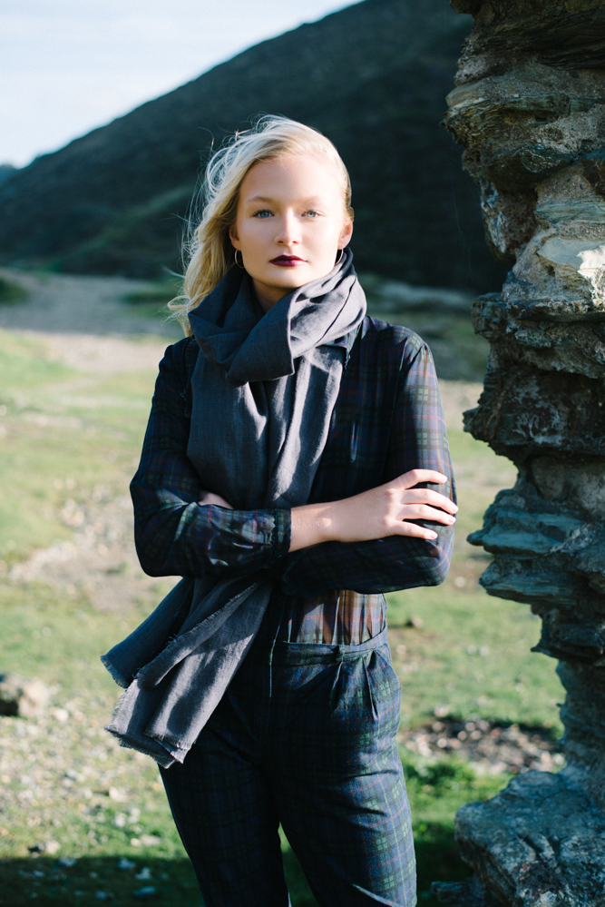 Blue Hills | A Fashion Editorial | Olivia Bossert Photography