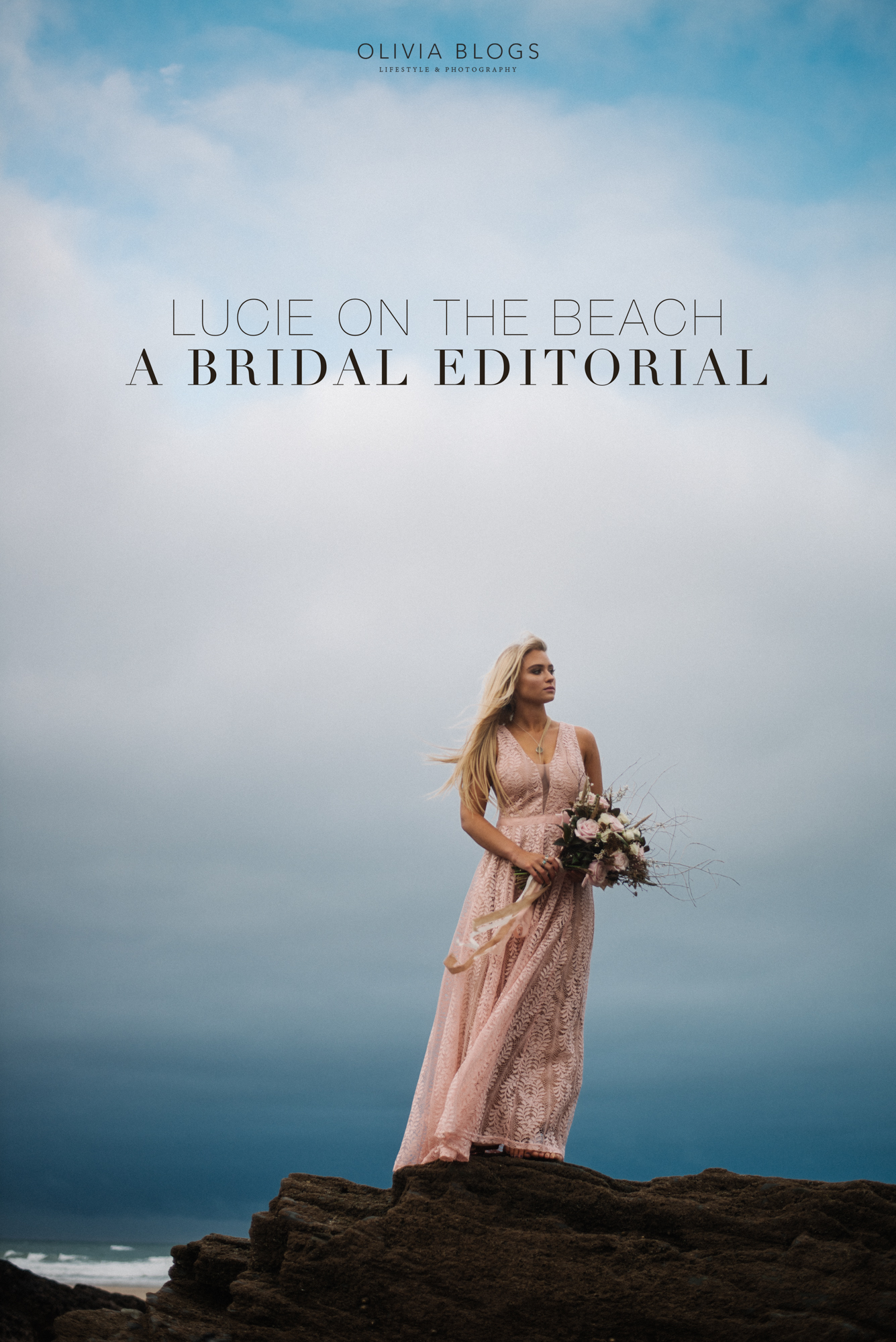Lucie On The Beach | Bridal Editorial